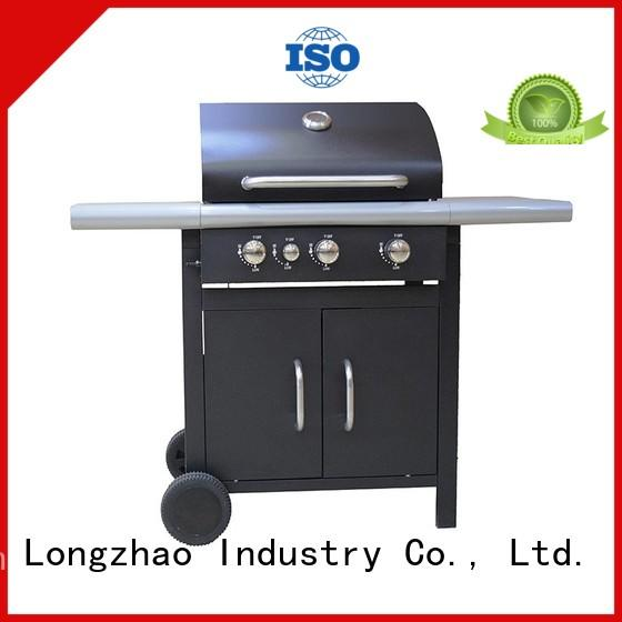 large base tabletop gas grill burner tabletop for garden grilling Longzhao BBQ
