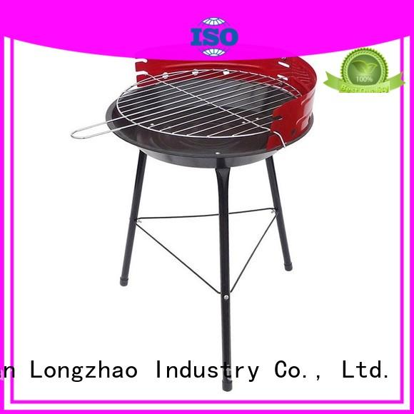 Longzhao BBQ unique charcoal broil grill high quality for outdoor cooking