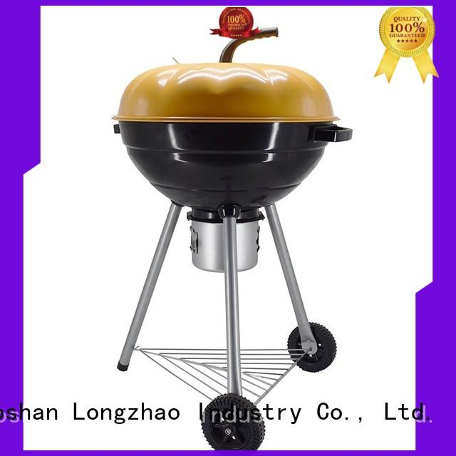 Longzhao BBQ simple structure charcoal bbq smoker high quality for outdoor bbq