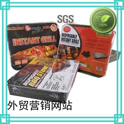 Longzhao BBQ Brand burning barren best charcoal grill manufacture