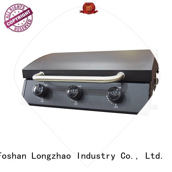 2 burner gas grill propane folding Bulk Buy manufacturer direct selling Longzhao BBQ
