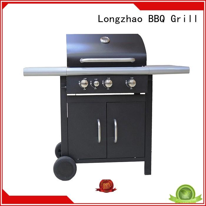 Longzhao BBQ portable gas grills stainless steel easy-operation for cooking