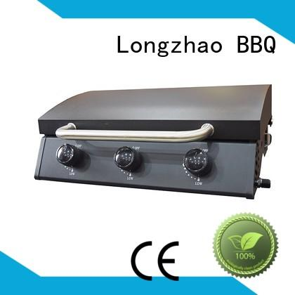 gas moving burners OEM best gas bbq Longzhao BBQ