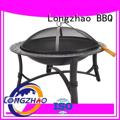 the round up bbq grill steel for camping Longzhao BBQ