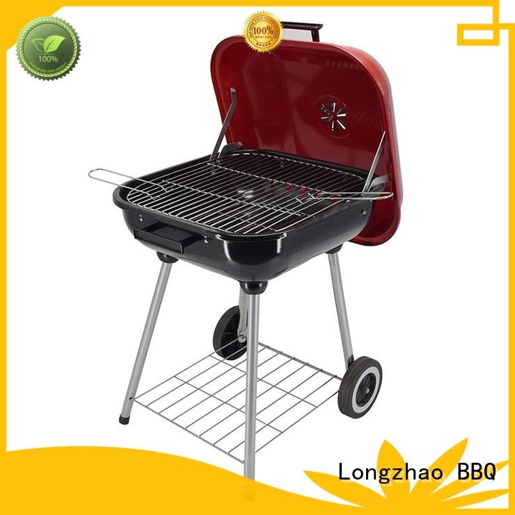 Longzhao BBQ Brand high quality barrel coloful disposable bbq grill near me
