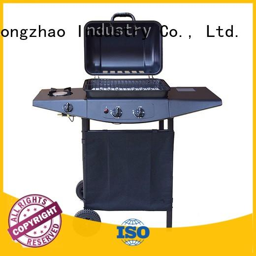 2 burner gas grill cooking large Longzhao BBQ Brand company