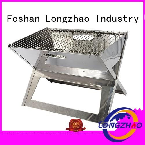 Longzhao BBQ small portable barbecue grill stove for camping