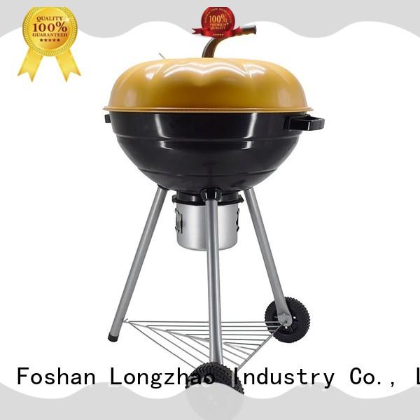 Longzhao BBQ light-weight charcoal smoker grills high quality for camping