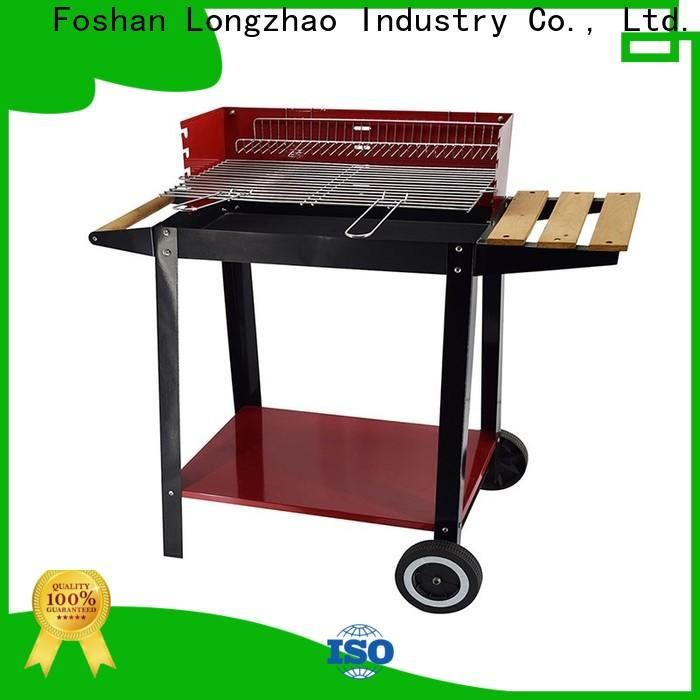 Longzhao BBQ stainless portable barbecue grill bulk supply for outdoor bbq