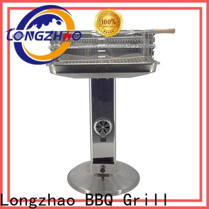Longzhao BBQ instant charcoal broil grill factory direct supply for outdoor bbq