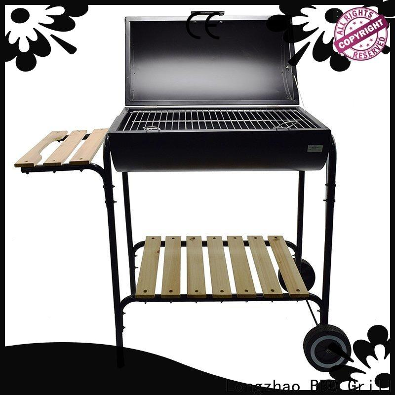 Longzhao BBQ heavy duty best charcoal grill high quality for barbecue