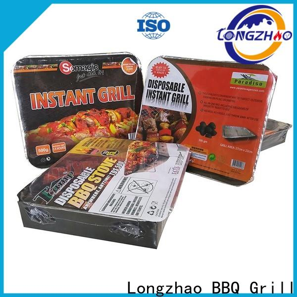 Longzhao BBQ small charcoal grill bulk supply for camping