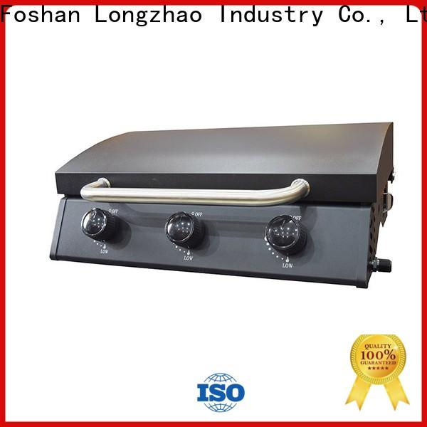 Longzhao BBQ large base gas barbecues grills easy-operation for garden grilling