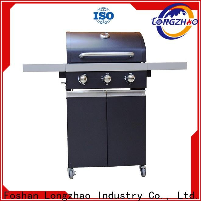 Longzhao BBQ large base gas grill stainless steel easy-operation for cooking