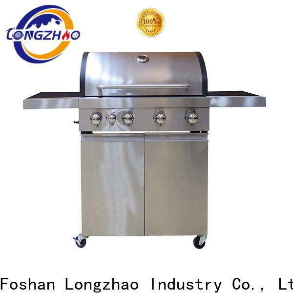 Longzhao BBQ portable lowes natural gas grill free shipping for cooking