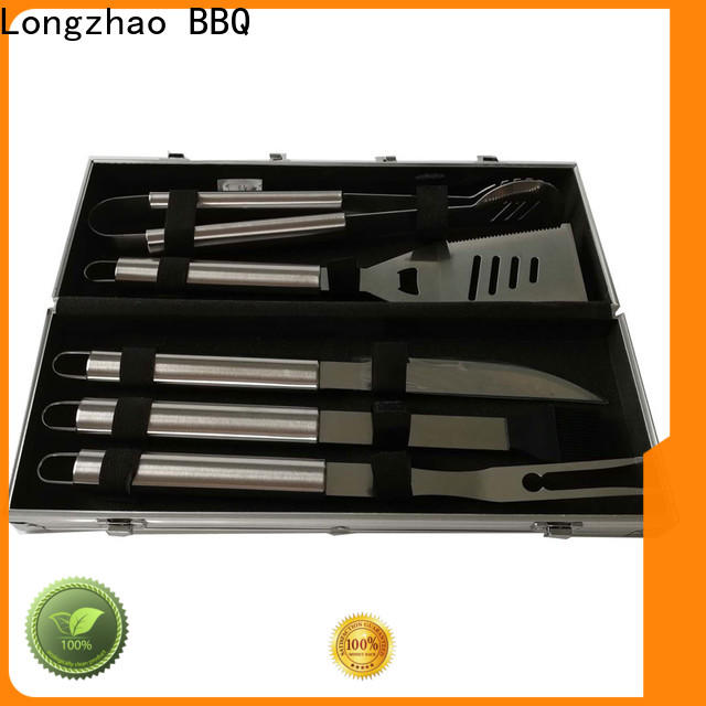 easily cleaned grill utensil set custom for gas grill