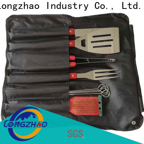 Longzhao BBQ bbq grill tool set hot-sale for charcoal grill