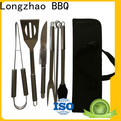 portable grill tools set custom for barbecue