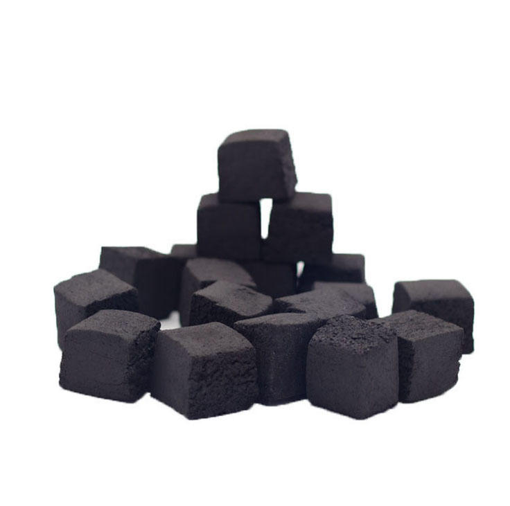 1.5 hours long burning time shisha cube charcoal for hookah