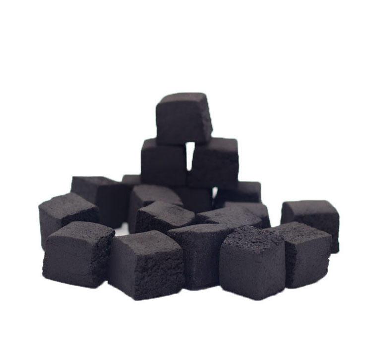 2 hours long burning time shisha cube charcoal for hookah