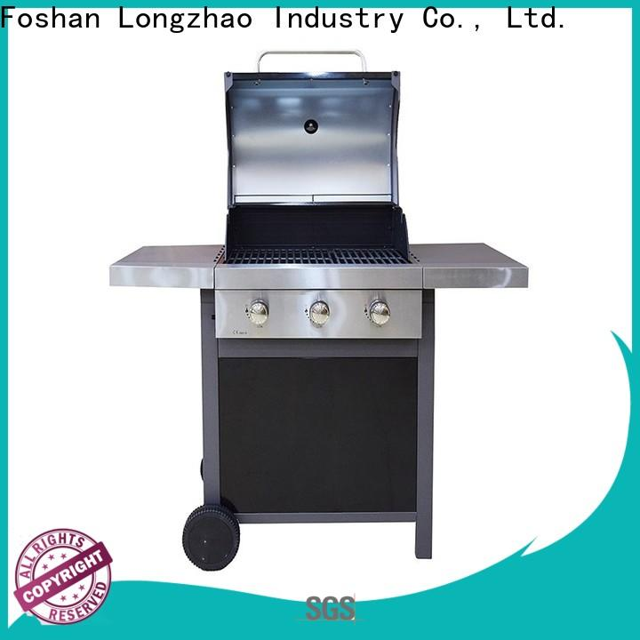 Longzhao BBQ outdoor natural gas bbq grill easy-operation for cooking