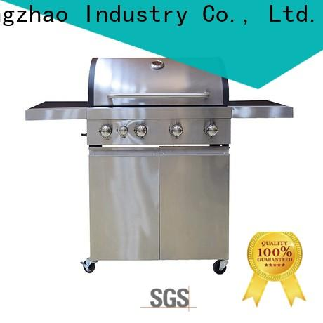 stainless steel propane outdoor grill easy-operation for camping