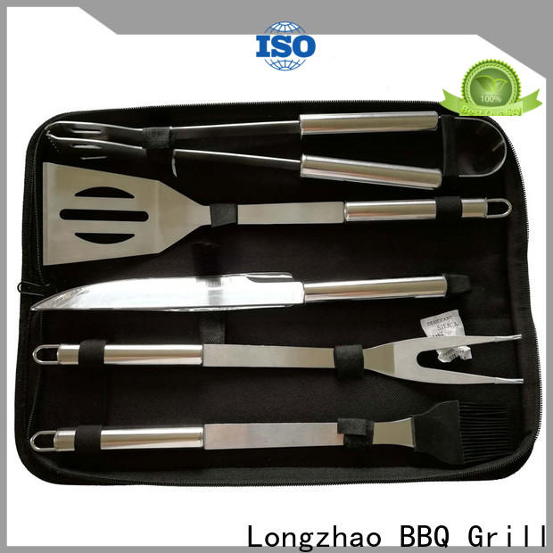 folding bbq grill tool set vendor for gas grill