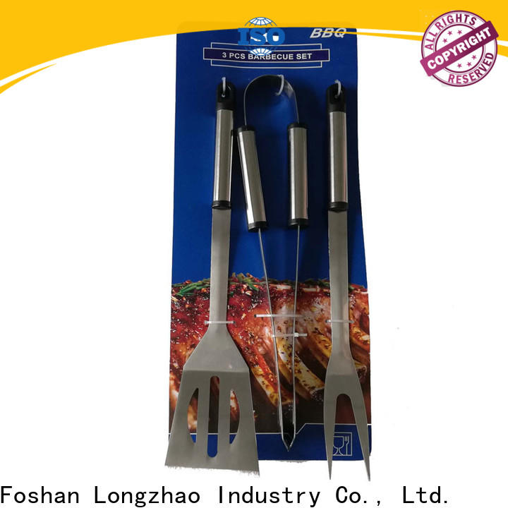Longzhao BBQ easily cleaned bbq grill set vendor for gas grill