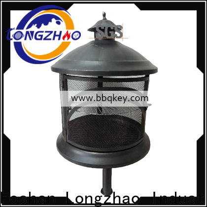Longzhao BBQ gas fire pit factory direct sale for wholesale