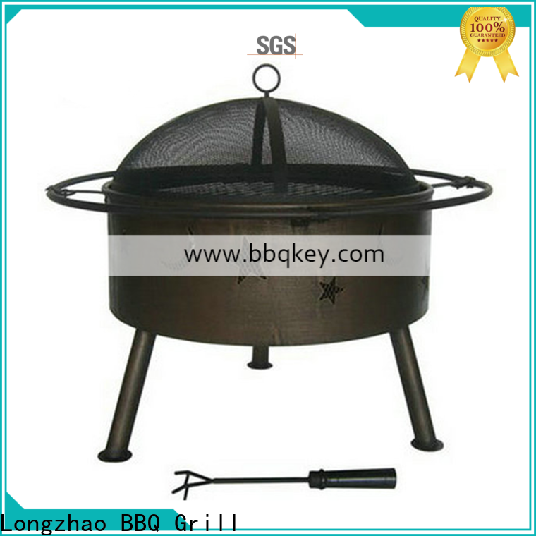 Longzhao BBQ new design fire pit factory direct for barbecue
