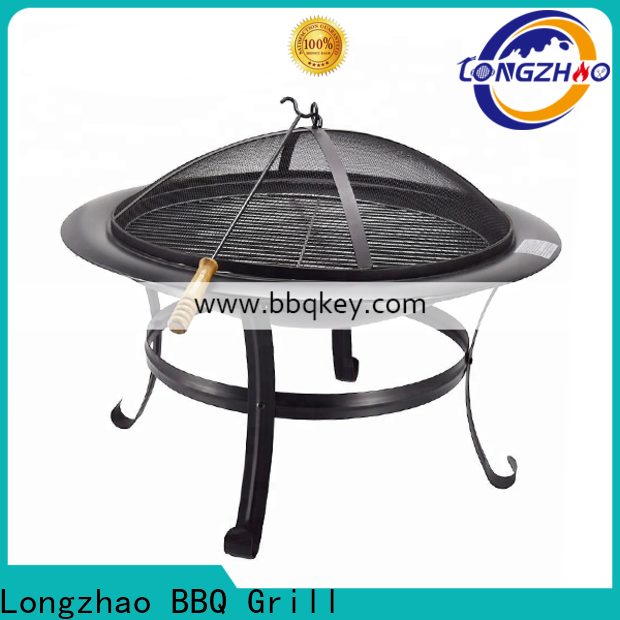 Longzhao BBQ gas fire pit wholesale for outdoor bbq