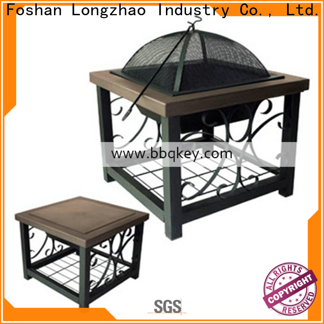 Longzhao BBQ quality lowes fire pit oem for sale