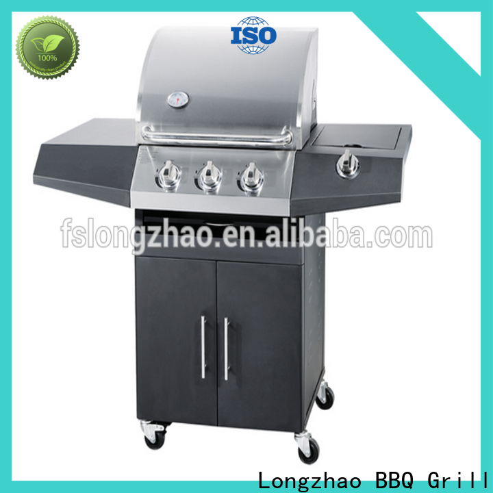 highly-rated 3 burner gas bbq supplier for grilling