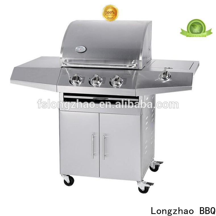 removable 4burner gas grill best supplier for meat grilling