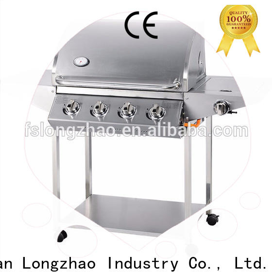 Longzhao BBQ 4 burner gas bbq best supplier for cooking