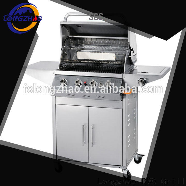 Longzhao BBQ stainless steel propane grill overseas market for outdoor