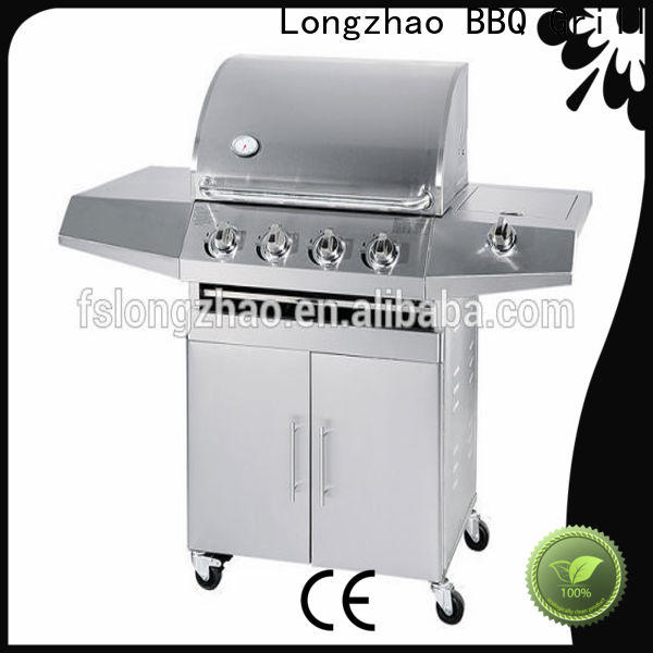 high quality stainless steel gas bbq wholesale for camping