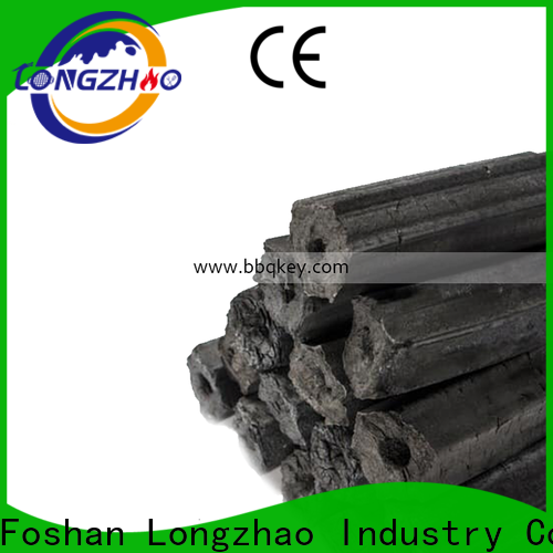 Longzhao BBQ low-cost sawdust briquette charcoal custom for cooking