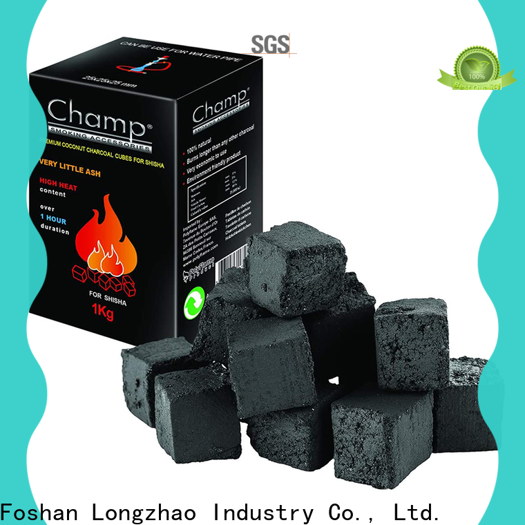 Longzhao BBQ bulk charcoal wholesalers manufacturer for camping